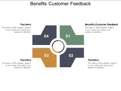 Benefits Customer Feedback Ppt PowerPoint Presentation Pictures Samples Cpb