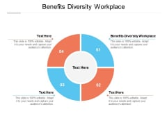 Benefits Diversity Workplace Ppt PowerPoint Presentation Diagram Templates Cpb