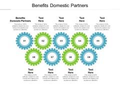 Benefits Domestic Partners Ppt PowerPoint Presentation Portfolio Guidelines Cpb