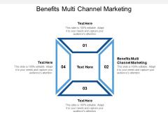 Benefits Multi Channel Marketing Ppt PowerPoint Presentation Slides Topics Cpb