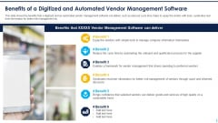 Benefits Of A Digitized And Automated Vendor Management Software Themes PDF