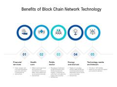 Benefits Of Block Chain Network Technology Ppt PowerPoint Presentation File Design Inspiration PDF