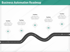 Benefits Of Business Process Automation Business Automation Roadmap Ppt Good PDF