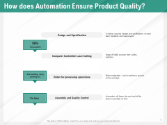 Benefits Of Business Process Automation How Does Automation Ensure Product Quality Guidelines PDF
