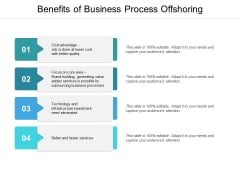 Benefits Of Business Process Offshoring Ppt PowerPoint Presentation Inspiration Picture