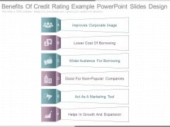 Benefits Of Credit Rating Example Powerpoint Slides Design