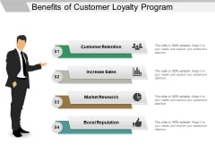 Benefits Of Customer Loyalty Program Ppt PowerPoint Presentation Icon Outfit
