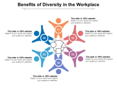 Benefits Of Diversity In The Workplace Ppt PowerPoint Presentation Summary Inspiration PDF