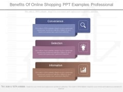 Benefits Of Online Shopping Ppt Examples Professional