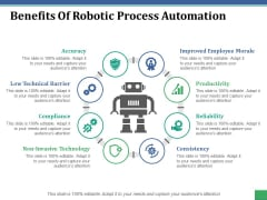 Benefits Of Robotic Process Automation Ppt PowerPoint Presentation Summary Example Topics