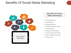 Benefits Of Social Media Marketing Ppt PowerPoint Presentation Outline Backgrounds