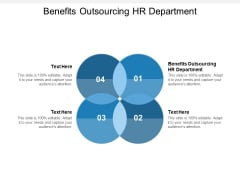 Benefits Outsourcing HR Department Ppt PowerPoint Presentation Portfolio Images Cpb