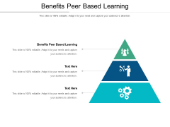 Benefits Peer Based Learning Ppt PowerPoint Presentation Clipart Cpb