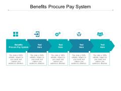 Benefits Procure Pay System Ppt PowerPoint Presentation Portfolio Model Cpb