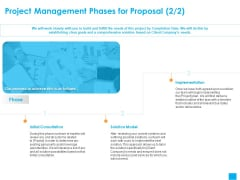 Benefits Realization Management Project Management Phases For Proposal Initial Clipart PDF