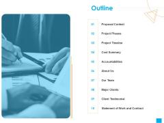 Benefits Realization Management Proposal Outline Designs PDF
