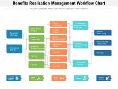 Benefits Realization Management Workflow Chart Ppt PowerPoint Presentation Gallery Show PDF