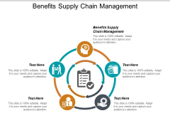 Benefits Supply Chain Management Ppt PowerPoint Presentation Gallery Graphics Example Cpb