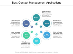 Best Contact Management Applications Ppt PowerPoint Presentation Infographics Graphic Images