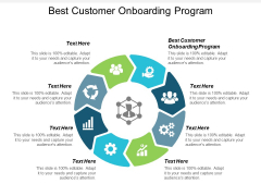 Best Customer Onboarding Program Ppt PowerPoint Presentation Model Graphics Design Cpb