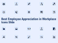 Best Employee Appreciation In Workplace Icons Slide Ppt Icon Demonstration PDF
