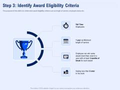 Best Employee Appreciation Workplace Step 3 Identify Award Eligibility Criteria Information PDF