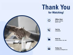 Best Employee Appreciation Workplace Thank You For Watching Ppt Summary Rules PDF