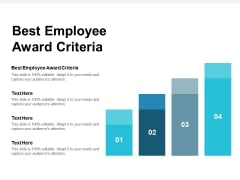 Best Employee Award Criteria Ppt PowerPoint Presentation Styles Mockup Cpb
