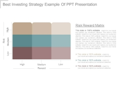 Best Investing Strategy Example Of Ppt Presentation