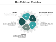 Best Multi Level Marketing Ppt PowerPoint Presentation Model Slide Portrait Cpb