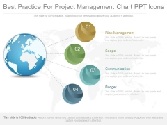 Best Practice For Project Management Chart Ppt Icons