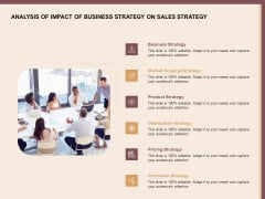 Best Practices For Increasing Lead Conversion Rates Analysis Of Impact Of Business Strategy On Sales Strategy Structure PDF