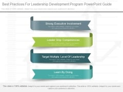 Best Practices For Leadership Development Program Powerpoint Guide