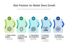 Best Practices For Market Share Growth Ppt PowerPoint Presentation Show Background Images PDF