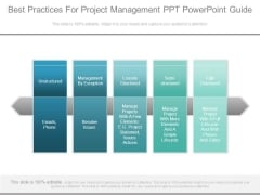 Best Practices For Project Management Ppt Powerpoint Guide