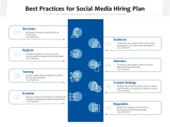 Best Practices For Social Media Hiring Plan Ppt PowerPoint Presentation Layouts Template