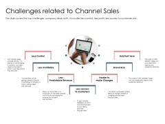 Best Practices Increase Revenue Out Indirect Challenges Related To Channel Sales Sample PDF