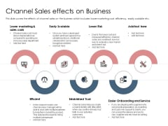 Best Practices Increase Revenue Out Indirect Channel Sales Effects On Business Themes PDF
