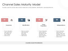 Best Practices Increase Revenue Out Indirect Channel Sales Maturity Model Themes PDF