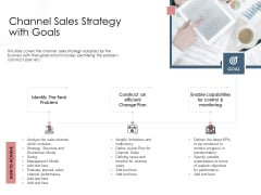 Best Practices Increase Revenue Out Indirect Channel Sales Strategy With Goals Background PDF