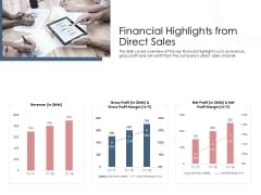 Best Practices Increase Revenue Out Indirect Financial Highlights From Direct Sales Microsoft PDF