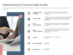 Best Practices Increase Revenue Out Indirect Implementing Of Channel Sales Model Information PDF