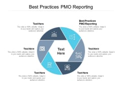 Best Practices PMO Reporting Ppt PowerPoint Presentation Infographic Template Show Cpb Pdf