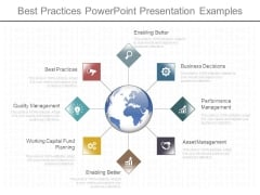 Best Practices Powerpoint Presentation Examples
