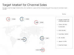 Best Practices That Increase Revenue Out Of Indirect Sales Target Market For Channel Sales Icons PDF