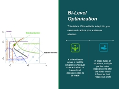 Bi Level Optimization Ppt PowerPoint Presentation Gallery Icons