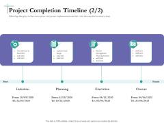 Bidding Cost Comparison Project Completion Timeline Initiation Ppt Slides Images PDF