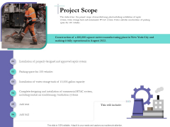 Bidding Cost Comparison Project Scope Ppt Infographic Template Example Topics PDF