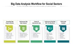 Big Data Analysis Workflow For Social Sectors Ppt PowerPoint Presentation Portfolio Show PDF