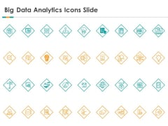 Big Data Analytics Icons Slide Ppt Infographic Template Example Topics PDF